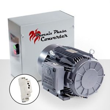 Rotary Phase Converter - 60 HP - CNC Grade, Industrial Grade PC60P4L