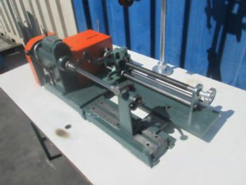 BLUME & REDECKER MODEL DA 125 COIL WINDING MACHINE GERMAN MADE HIGHEST QUALITY
