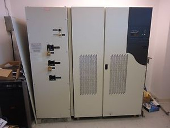 MGE APC Galaxy PW 225 KVA KW UPS New Surplus - 2 batt cabinets & 3 Breaker MBS