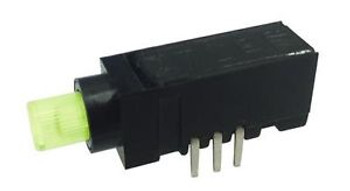 Illuminated Pushbutton Switches PUSH SW 0.2A 36VDC GRN/YEL LED (100 pieces)