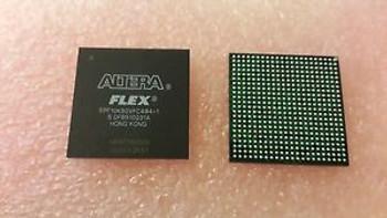1x ALTERA EPF10K50VFC484-1 , FPGA FLEX 10K Family 50K Gates 2880 Cells 250MHz 0.