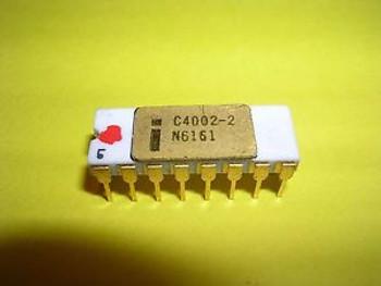 Intel C4002-2 (4002-2) Static RAM - Extremely Rare - C4004 / C8008 / C4040 Era
