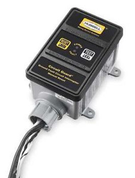 Hubbell Wiring Device-Kellems Gfhw23015 Gfci, Hard Wired, 240V, 30A, Black