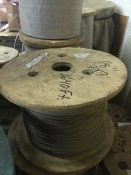 Stainless Steel Aircraft Cable Metric Wire. 3Mm. 7X7.  1,640 Reel