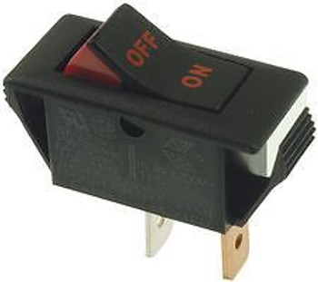 EATON 1500H113E074 SWITCHES, ROCKER, SPST, 22A, 125V, BLACK (100 pieces)