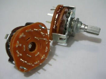 100,Rotary Switch 1 Pole 12 Position Non-Shorting,12P