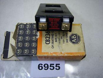 (6955) Allen Bradley Coil CB236 Size 0-1 115-120V