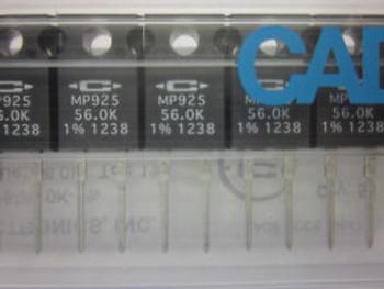 (50 pcs) Caddock MP925-56.0K-1% Power Film Resistor NEW