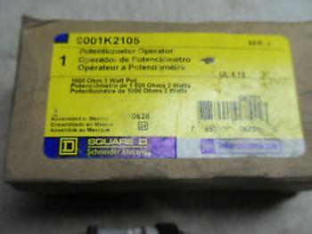 (S2-1) 1 NEW SQUARE D 9001K2105  POTENTIOMETER