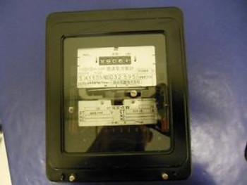 Fuji Electrical Usage Meter 5A 110V NO. 032595