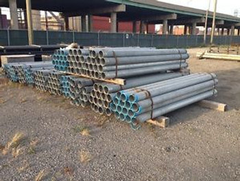100 11/2 Inch Galinized Rigid Metal Conduit 10 Steel Made In USA