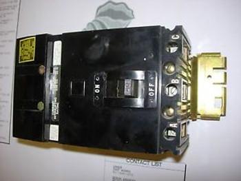 FA34040 - Square D Molded Case Circuit Breaker FA Type 3 Pole 40 AMP 240/480