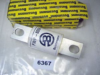(6367) Bussmann Fuse FWP800A 700V Semiconductor New
