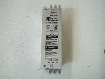 REXROTH INDRAMAT NFD03.1-480-007 POWER LINE FILTER USED