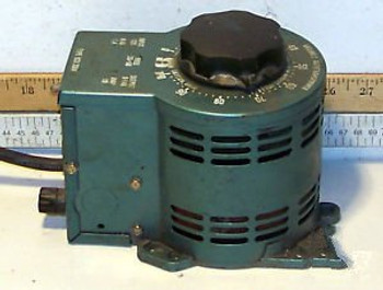 1 USED STACO TYPE 0333504 VARIABLE AUTO TRANSFORMER