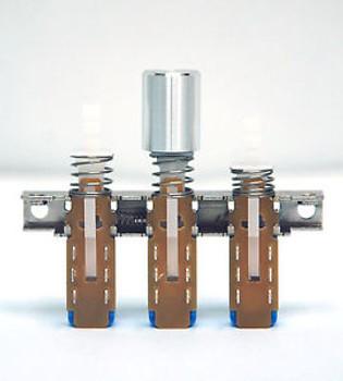 1000 Aluminium Knob KBA02-010/A12 Interlock Push button Switch ?10.8x14.5 Silver
