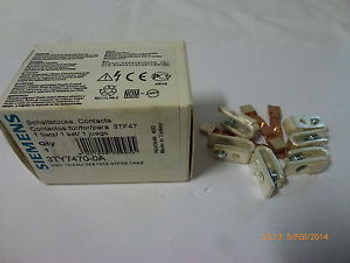 Siemens Contact Element Kit 3TY7470-0A for 3TF47 Contactor New