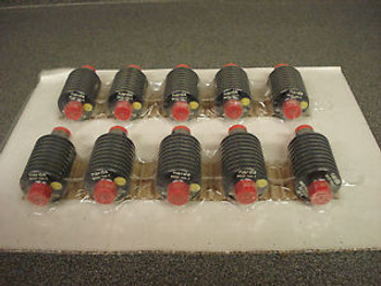 10 Narda 766-3 Fixed Attenuators 3dB 20W DC-4000MHz