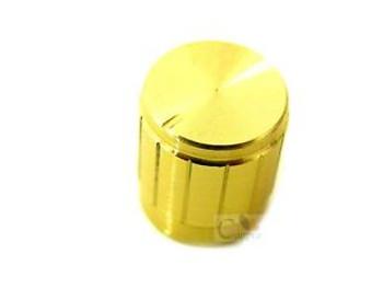1000pcs Knob Cap Gold 15x17mm Aluminum Alloy Potentiometer Knobs Cap