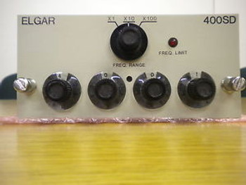 Elgar 403SD (3 Phase Variable 45Hz - 5Khz Oscillator-Very hard to find & tested