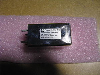 PHASE MATRIX CRYSTAL OSCILLATOR # 2030010-03 NSN: 5955-01-216-9770