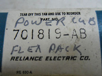 (U2-3) 1 NEW RELIANCE ELECTRIC 701819-AB MICRO SEMICONDUCTOR