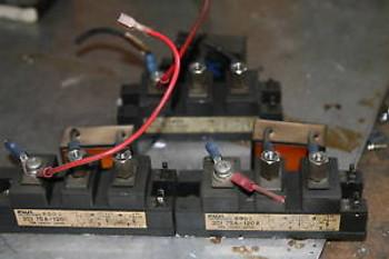 (3) Fuji 2DI 75A-120 Power Transistor AB Spindle Drive
