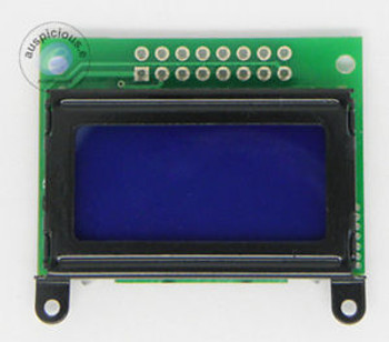 0802 square 8X2 characters LCD module Blue backlight 100pcs