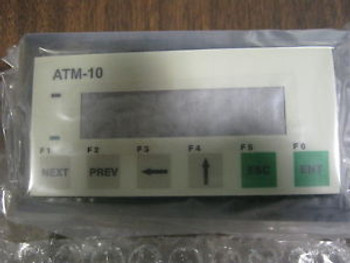 ATM-10N QTY 1 PANASONIC AROMAT LCD DISPLAY KEYPAD NEW ORIGINAL FACT BOX RARE