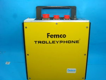 New Femco Trolly Phone, Model 711901/701, PT. TP5036, 270VDC 100KHZ