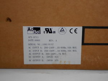 AC Bell API-9711 Shelf NEW