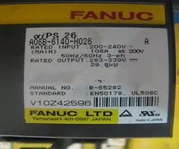 new FANUC A06B-6140-H026 power supply module 90 days warranty