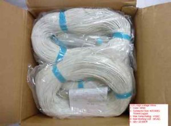 CCFL High Voltage Wires Conductor Size AWG #28  22,000 Ft White Lot