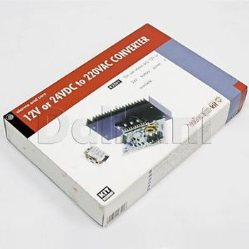 K3501 Velleman Kit 12V or 24V DC to 220VAC Converter New