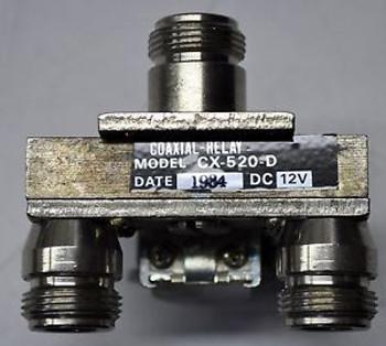 Tohtsu CX-520-D DC - 2 GHz, 12 VdC RF Microwave Relay Switch Ham Radio