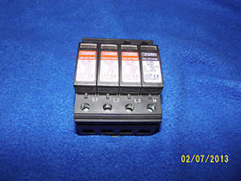 Phoenix Contact 2838199 VAL_MS 230/3+1 FM Surge Arrestor USED