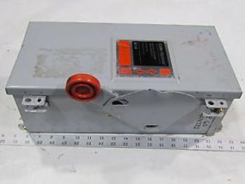 Cutler Hammer 60amp DH362FDK Safety Switch 600v Fused