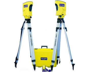 Line-Wizard, Long Range Infrared Alignment System, Tool To Line Up Fence Posts