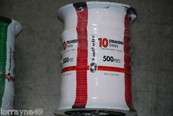 # 10THHN STRANDED WIRE RED 500 NEW SOUTHWIRE