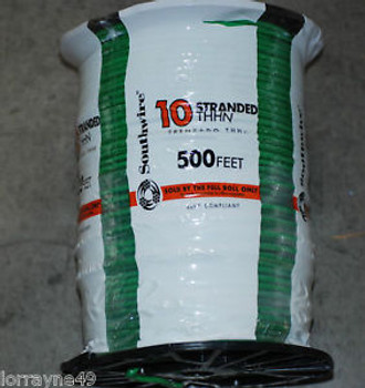 # 10THHN STRANDED WIRE GREEN  500 NEW SOUTHWIRE