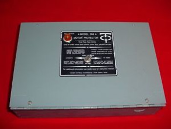 Turner Controls Model 30A Motor Protector Three Phase Monitor New