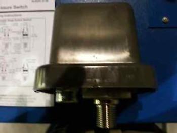 Pressure Switch, Mercoid, Adjustable, Falling, 100 psi, -20-100 degree F, G