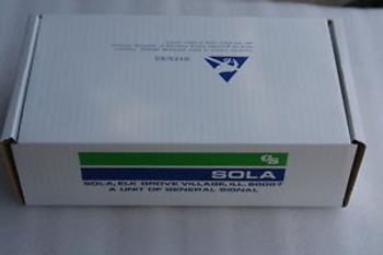 NEW   SOLA  24VDC 6.2A POWER SUPPLY CAT NO 86-24-262 Input120V/230V