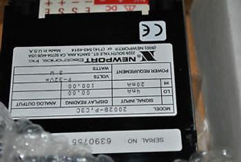 NEWPORT DIGITAL METER 2002B-P C3C New 2002BP