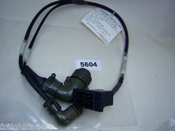 (5604) Fanuc Robotics Power Cable EE-3186-362-001 Axis 2 Dual End
