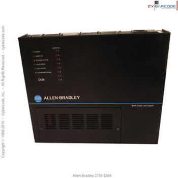 Allen-Bradley 2755-DM9 Bar Code Decoder with One Year Warranty