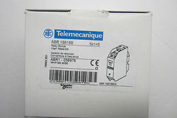 5 NEW TELEMECANIQUE ABR-1S618B RELAY MODULE ABR1S618B