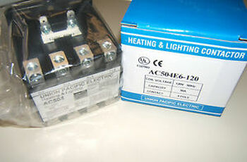 HVAC HEATING LIGHTING CONTACTOR 50A 4P 277V COIL AC504-277
