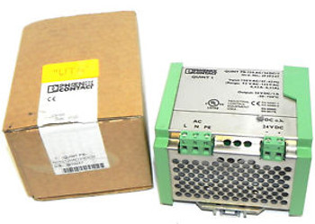 New PHOENIX CONTACT 78-139-4300 POWER SUPPLY ART# 2939247  QUINT PS-120AC/24DC/1