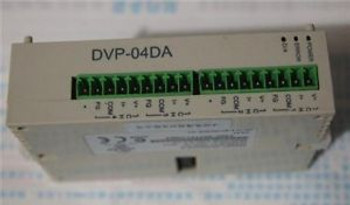 Delta PLC Analog Output Module DVP02DA-S ( DVP02DAS ) New In Box